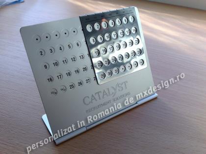 Calendar Aluminiu